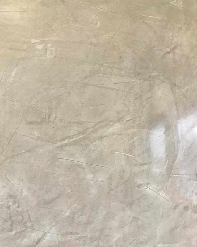 Image 11 - Grey polished plaster feature wall