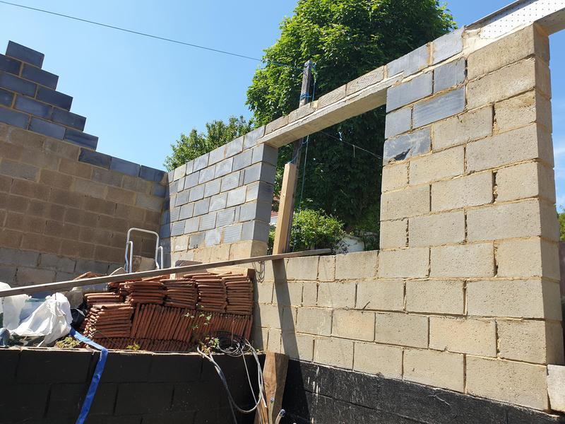 Image 6 - Poolhouse, work in progress