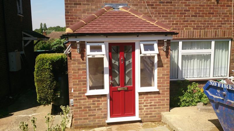 Image 27 - Porch for a customer in Dartford