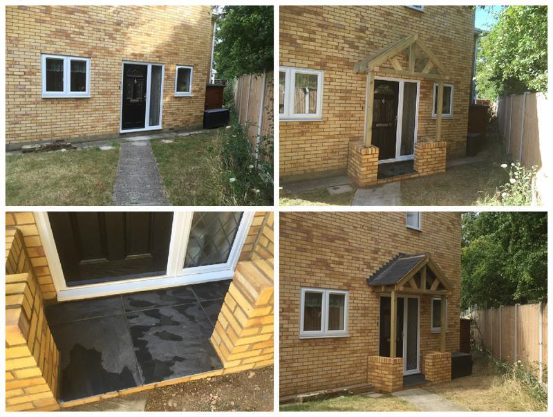 Image 34 - New porch