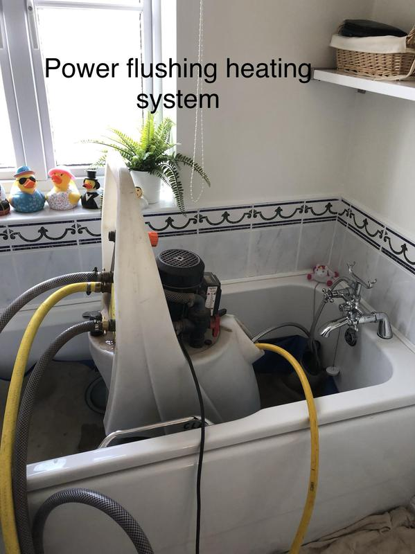 Image 16 - Expert power flushing service. We will do a check before and after using digital testers to ensure  its is cleaned properly and correctly doosed( inhibitors)