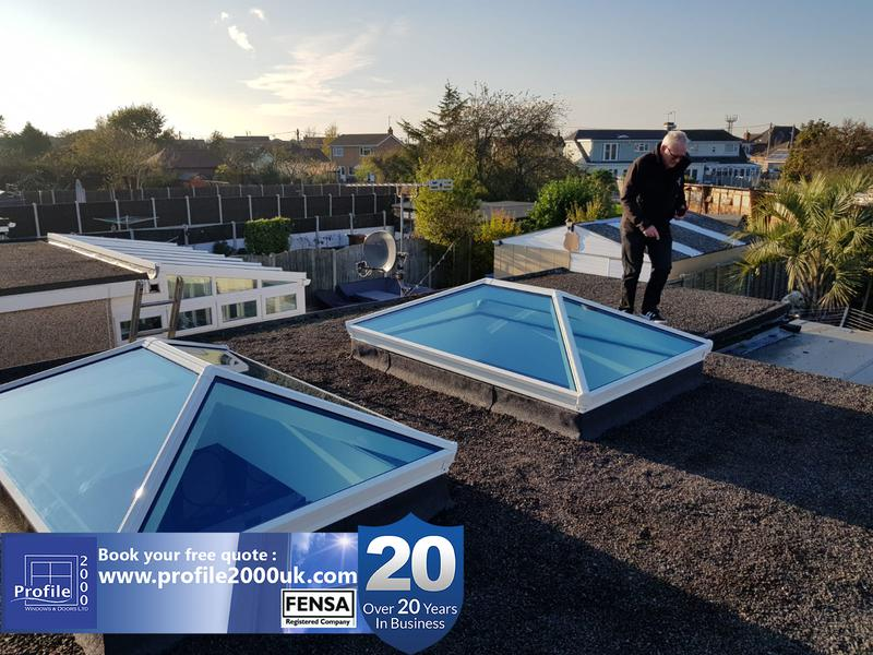 Image 1 - Roof lanterns - See more at www.profile2000uk.com/more-products/skypods/