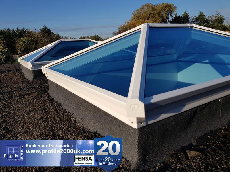 Image 2 - Roof lanterns - See more at www.profile2000uk.com/more-products/skypods/