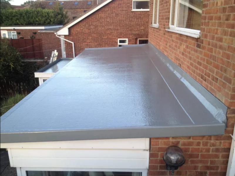 Image 16 - Fiberglass flat roof