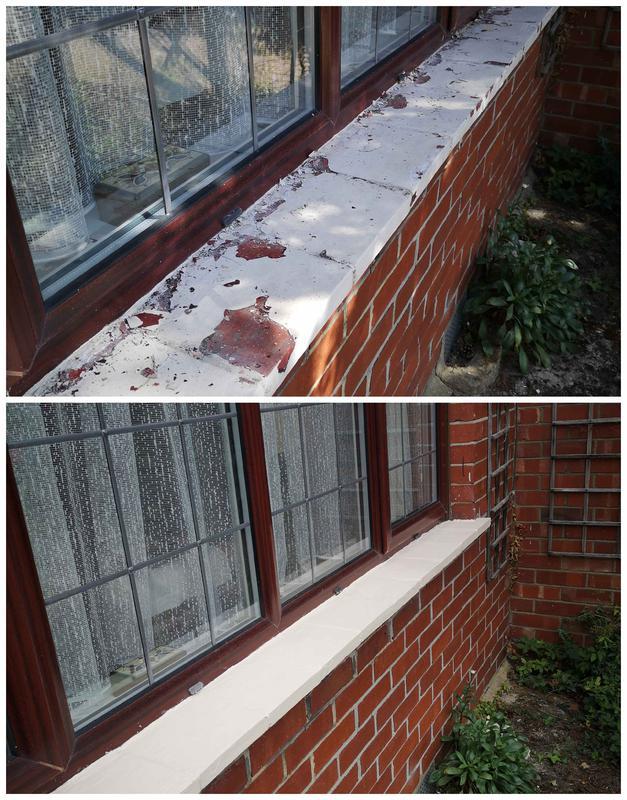 Image 1 - window cills re- furbished in Ewell