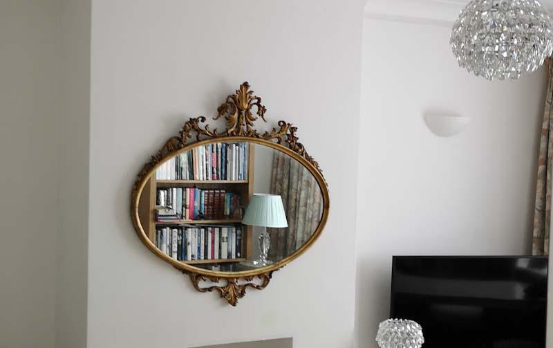 Image 2 - mirror hung in Esher