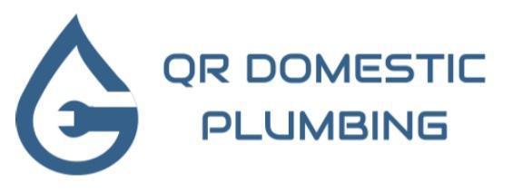 QR Domestic Plumbing logo
