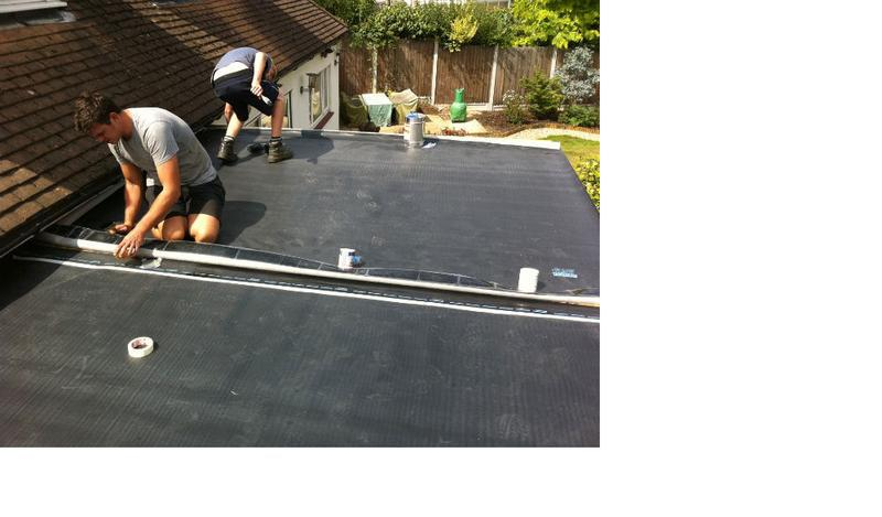 Image 4 - The 3 meter wide sheets are chemically adhered, to make one large sheet.