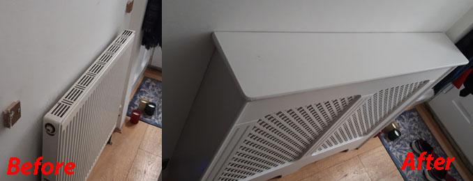 Image 4 - Installing a radiator cover