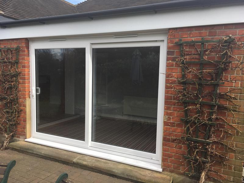 Image 102 - Rayleigh-White UPVC  patio doors