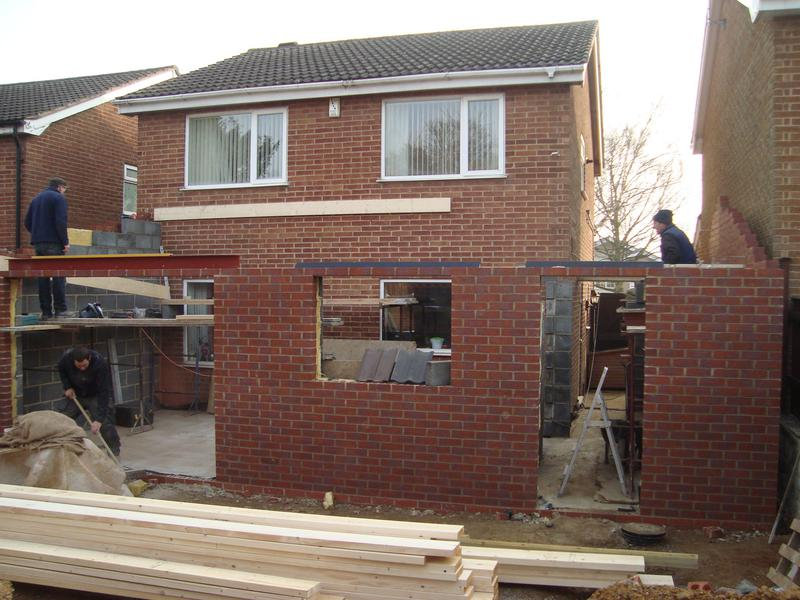 Image 15 - Rear Extension During Work