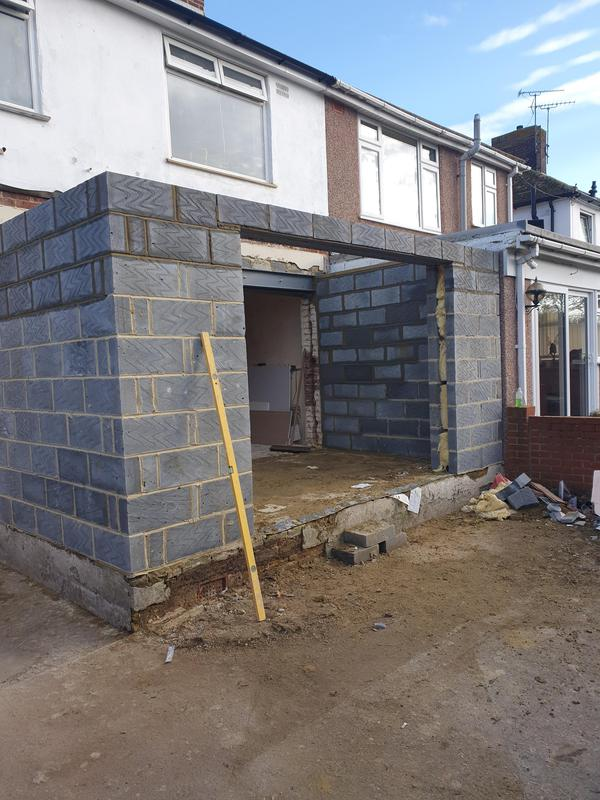 Image 4 - single storey extension in sheerness