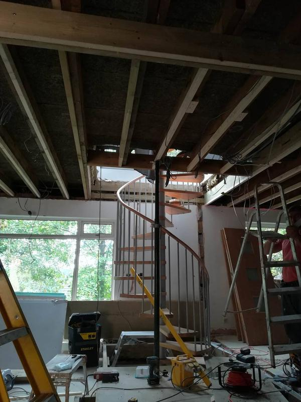 Image 8 - Bromley project.Ceiling leveling