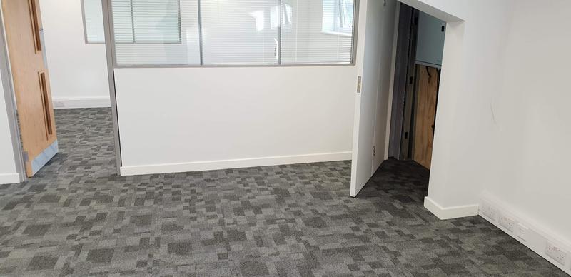 Image 15 - office carpet tile install