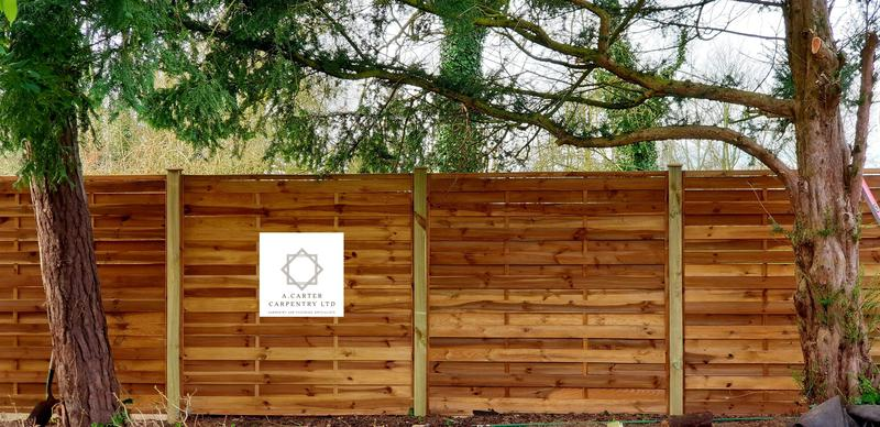 Image 6 - new fence install in stotfold