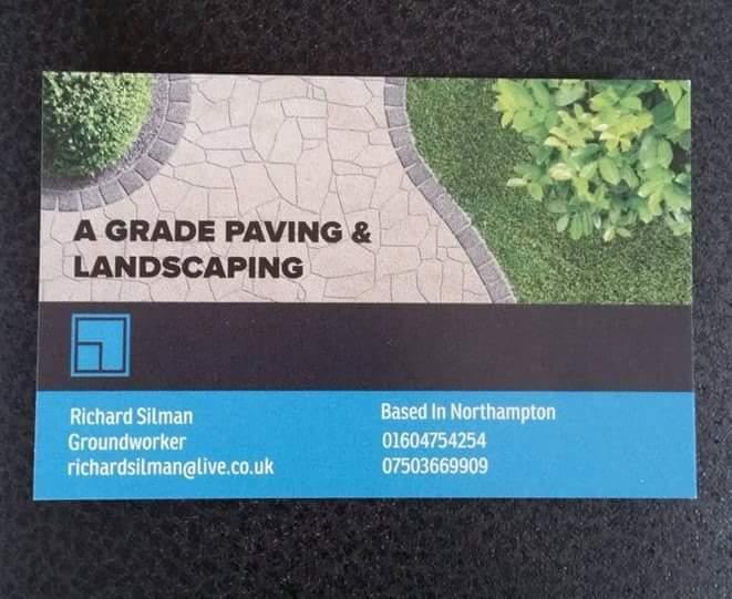 A Grade Paving & Landscaping logo