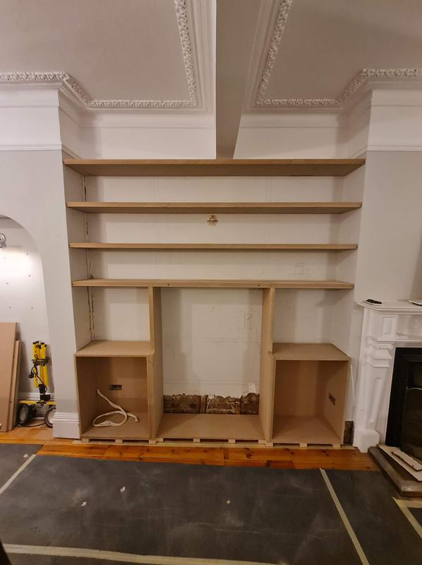 Image 30 - Preparation for new alcoves, Epping