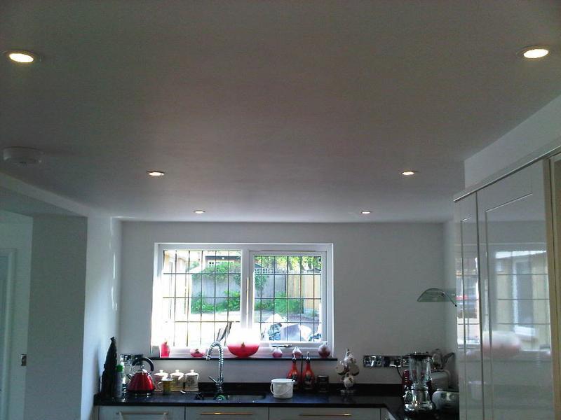 Image 5 - Downlights in kitchen (part of kitchen rewire)