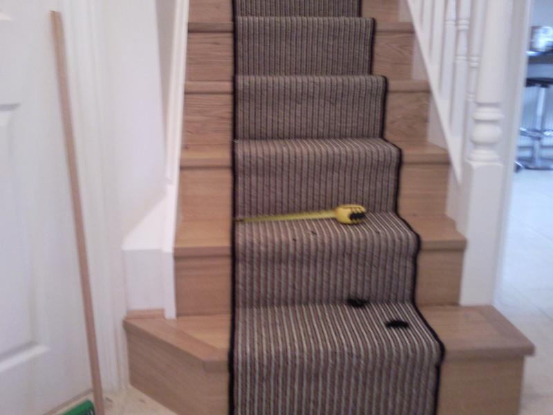 Image 12 - Engineered wood on stairs with solid oak nosings