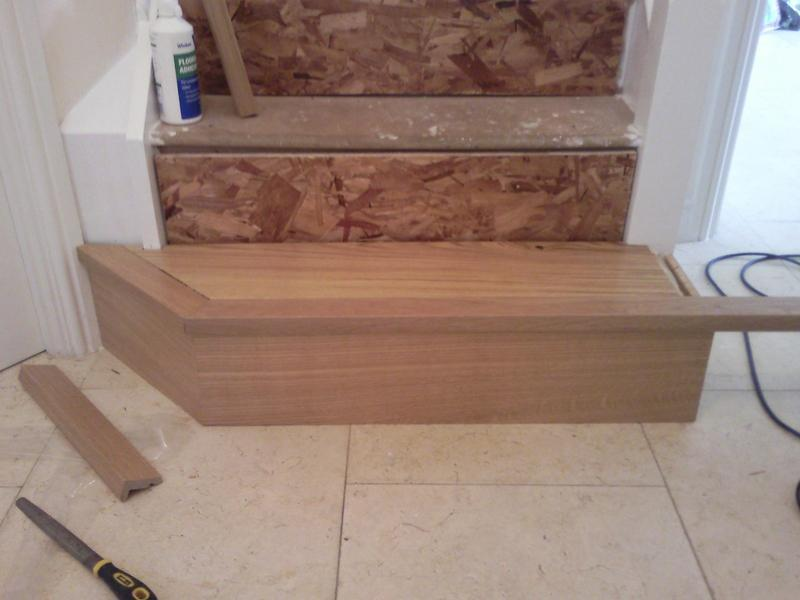 Image 7 - Engineered oak with solid nosing