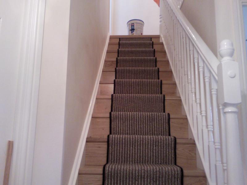 Image 9 - Brintans stair runner with rods