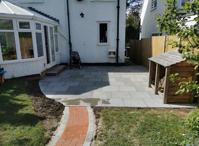 Image 5 - Indian Sandstone patio