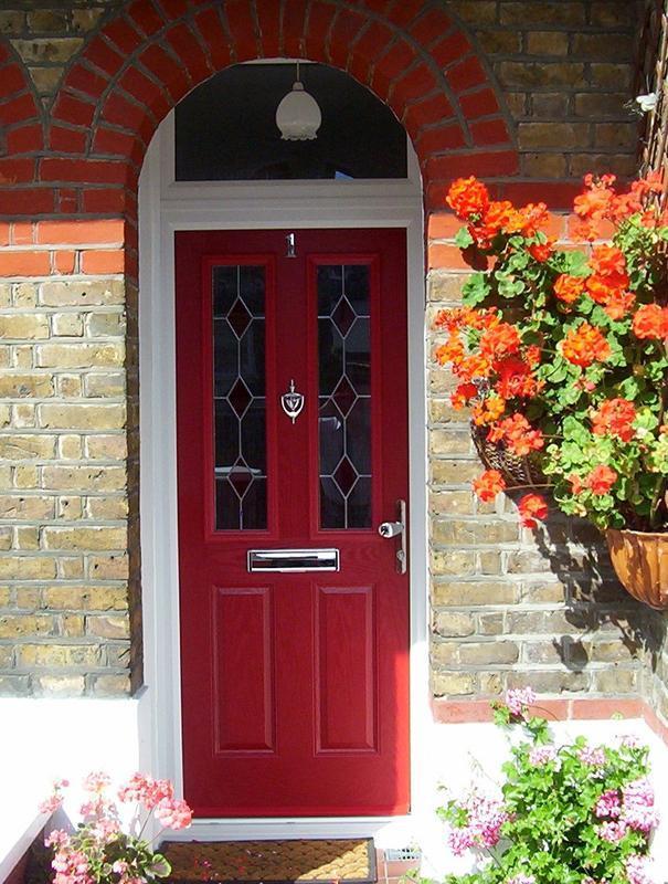 Image 9 - red composite door