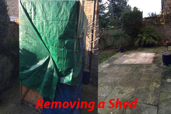 Image 17 - Remove a shed