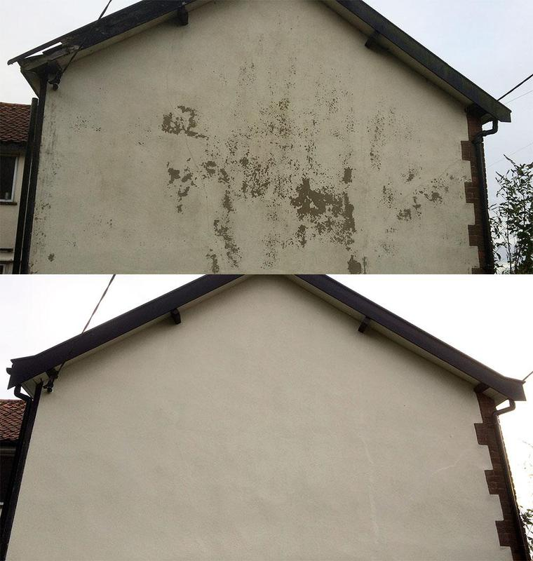 Image 4 - fascia and soffit repairs and render re-paint