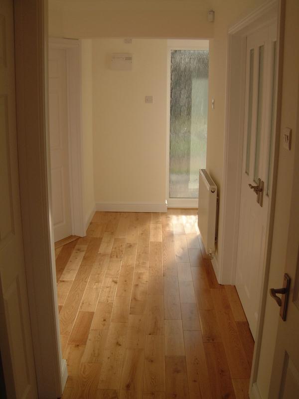 Image 13 - Wooden flooring laid