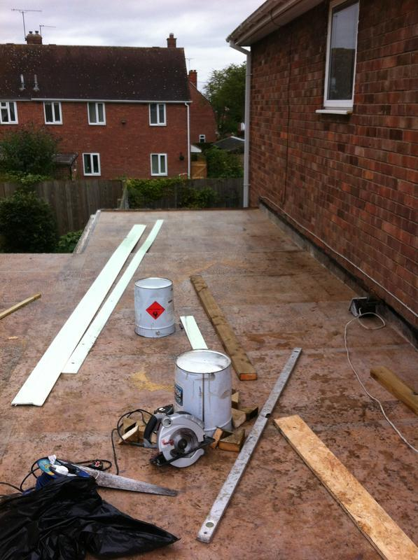 Image 23 - New flat roof (before)