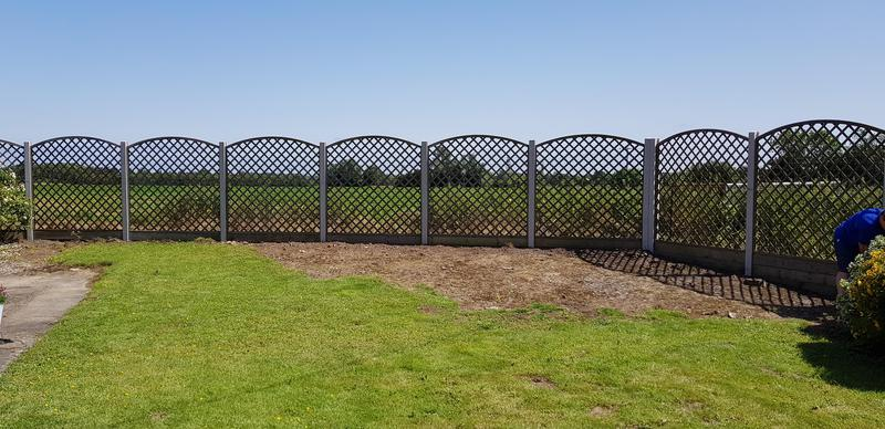 Image 21 - 6' Convex Privacy Trellis