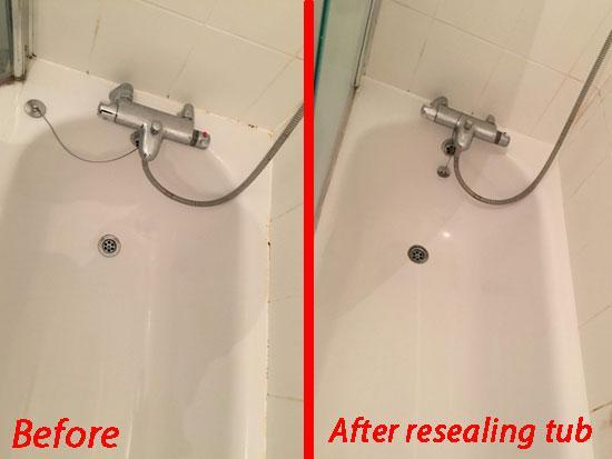 Image 17 - Resealing Bathtub