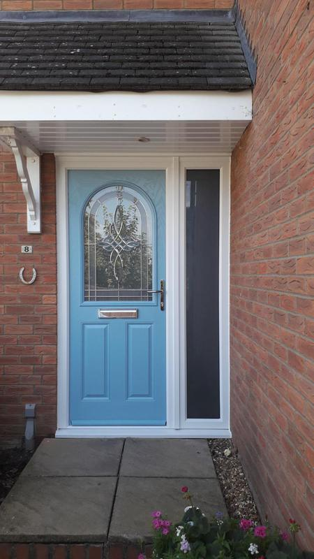 Image 77 - Lovely New Duck Egg Blue Front Door