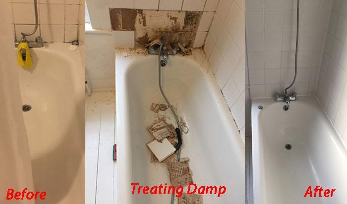 Image 16 - Treating damp in bathroom