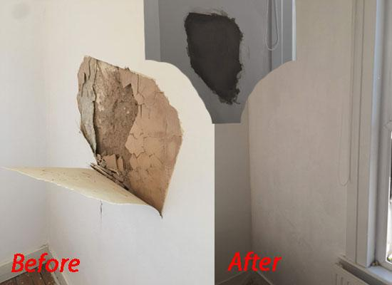 Image 12 - Fix damaged clay wall
