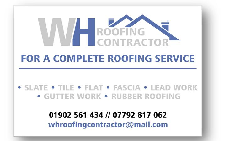 WH Roofing Contractors logo