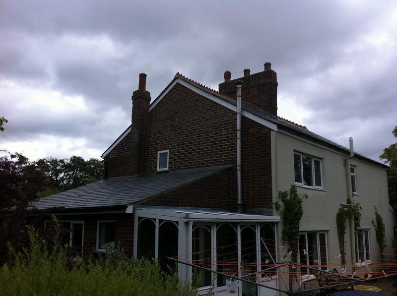 Image 6 - THIS IS THE SAME HOUSE AT A DIFFERENT ANGLE YOU CAN ALSO SEE THE LOWER ROOF