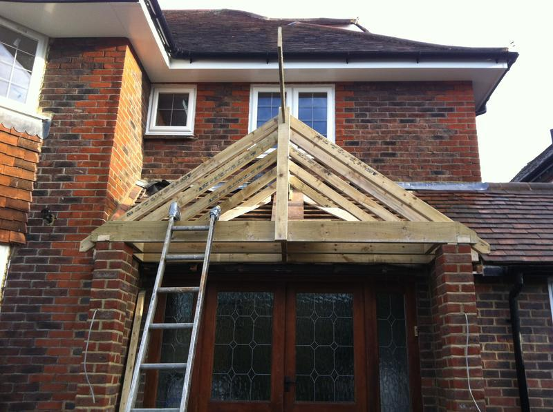 Image 4 - small apex roof in banstead