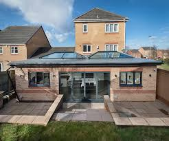 Image 2 - two roof lanterns in new extension in maidstone