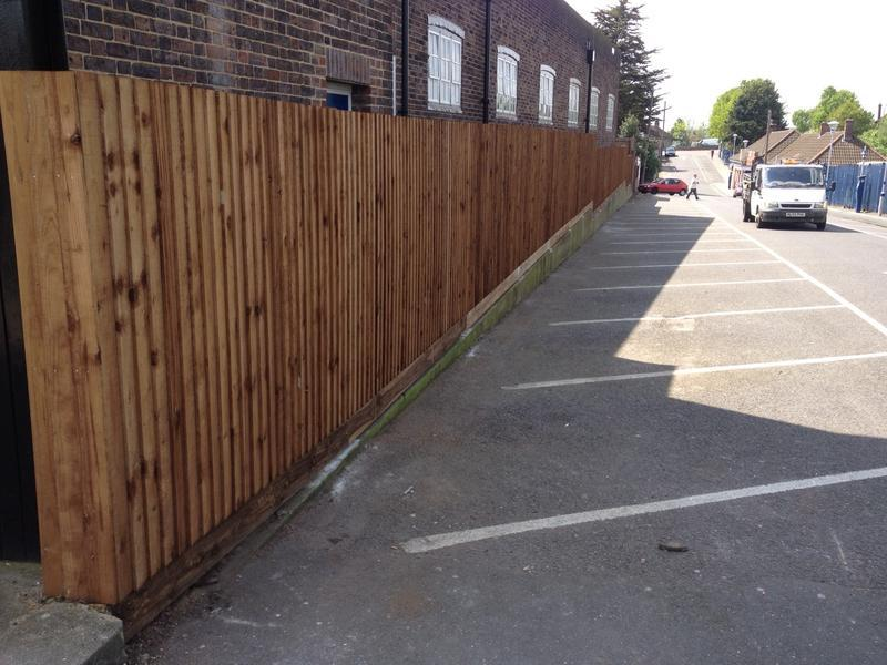 Image 20 - Royal Mail Bexleyheath Fencing Complete