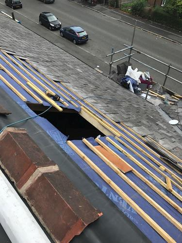 Image 8 - A high commercial property reroofed by our skilled contractors