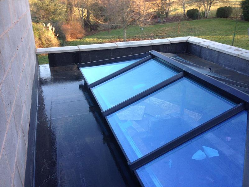 Image 4 - Sun tunnel surrounding our Rubbercover flat roofs