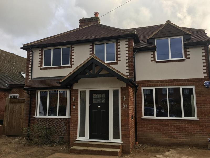 Image 3 - Two storey side & rear extension with front porch & color render