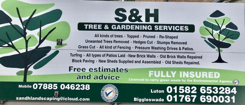 S&H Tree and Garden Services logo