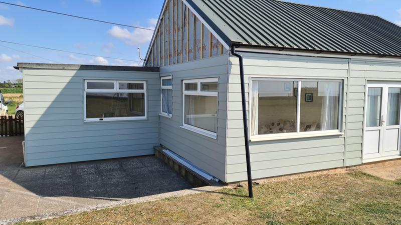 Image 2 - S1 builders norfolk cladding to two bungalows in heacham
