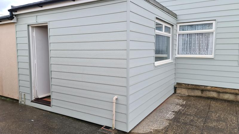 Image 3 - S1 builders norfolk cladding to two bungalows in heacham