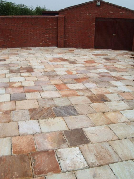 Image 5 - indian stone driveway in clenchwarton by s1 builders norfolk