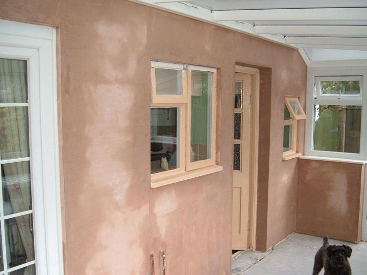Image 6 - little plastering job