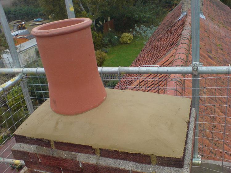 Image 8 - chimney pot install in gayton by s1 builders norfolk